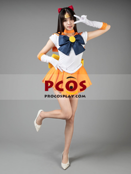 Picture of Ready to Ship Sailor Moon Sailor Venus Aino Minako Cosplay Costumes For Sale mp000348