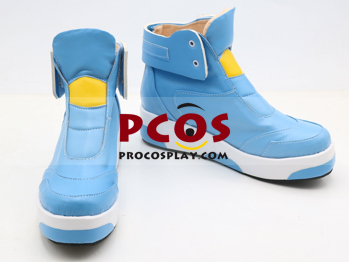Picture of Overwatch Tracer Graffiti Painter Cosplay Shoes mp004680