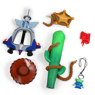 Picture of Kingdom Hearts Favorite Deputy Key Toy Story Pattern mp004389
