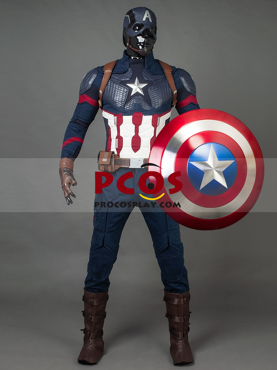 Ready to Ship Endgame Captain America Steve Rogers Cosplay