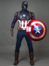 Picture of Ready to Ship Endgame Captain America Steve Rogers Cosplay Costume with Helmet mp004310