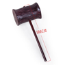 Picture of Angry Chan Cosplay Hammer mp004460