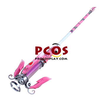 Picture of Overwatch OW Pink Mercy Charity Skin Mercy Angela Ziegler Staff Cosplay Weapon mp004464