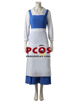 Picture of Beauty and the Beast Belle Comic Pack Maid Uniform Cosplay Costume mp004973