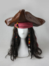 Picture of Pirates of the Caribbean Captain Jack Sparrow Cosplay Costume mp004995