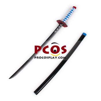 Picture of Demon Slayer: Kimetsu no Yaiba Tomioka Giyuu Cosplay Sword mp005097