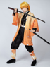 Picture of Demon Slayer: Kimetsu no Yaiba Agatsuma Zenitsu Cosplay Costume mp005110