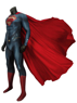 Picture of Man of Steel Superman Clark Kent Coaplay Costume mp005140