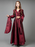 Picture of Ready to Ship Game of Thrones Melisandre Red Robe Witch Court Dress Cosplay Costume mp005074