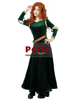 Picture of Ready to Ship Deluxe Brave Princess Merida Cosplay Costume mp003883