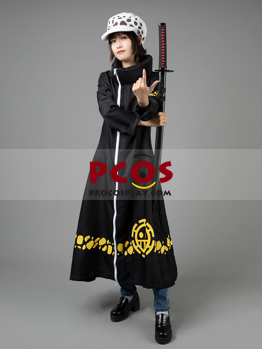 Picture of One Piece Trafalgar D Water Law Surgeon of Death Cosplay Costume mp002027