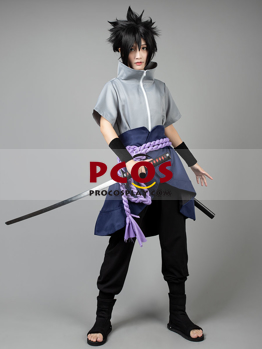 Picture of Ready to Ship Naruto Sasuke Uchiha 6th Men's Cosplay Costumes mp003607