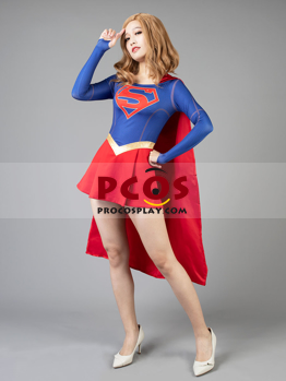 Picture of Ready to ship New Supergirl Kara Zor-El Cosplay Costume mp003609