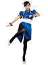 Picture of Ready to ship Top Street Fighter Chun Li Cosplay Costumes mp000407