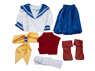 Picture of Ready to Ship Street Fighter 4 Sakura Kasugano Cosplay Costume mp000353