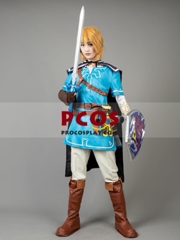 The Legend Of Zelda Breath Of The Wild Link Cosplay Gold Wig Mp004110