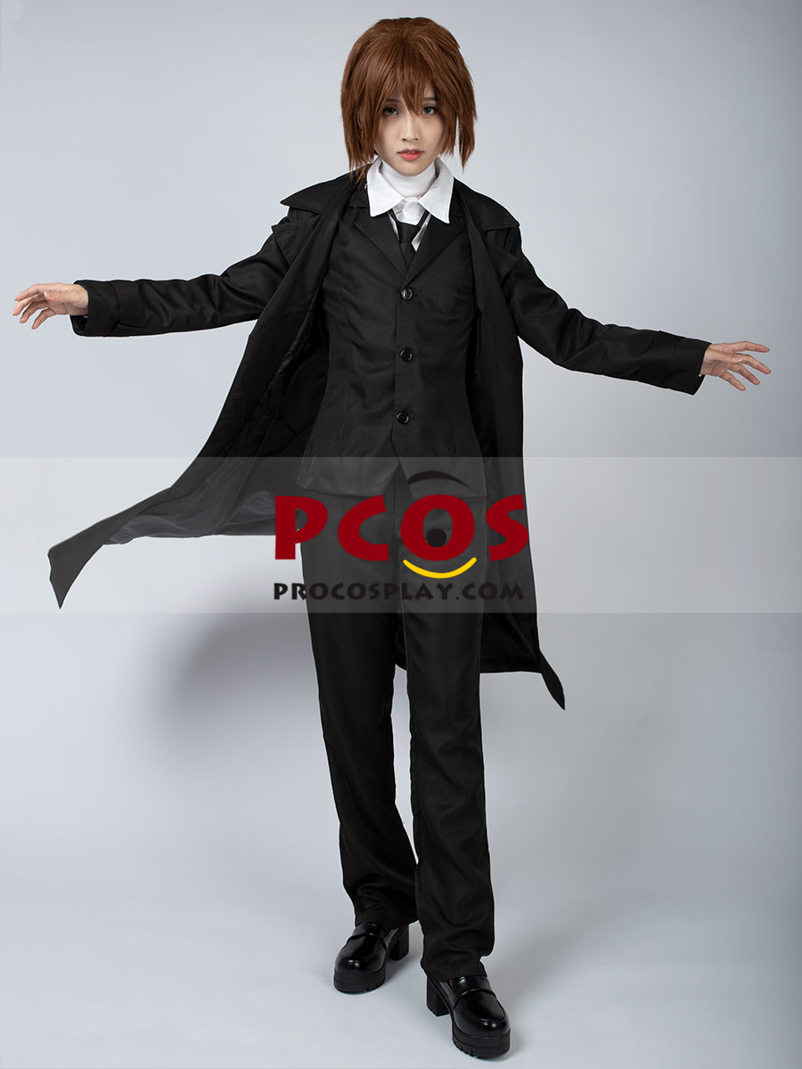 Ready to Ship Bungo Stray Dogs Dazai Osamu Cosplay Costume ...