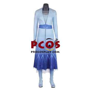Picture of Frozen 2 Elsa Cosplay Costume mp004983