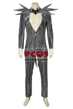 Picture of New The Nightmare Before Christmas Jack Skellington Cosplay Costume mp005165