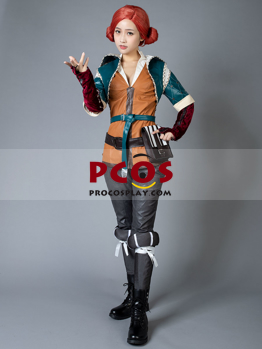 Picture of Ready to Ship The Witcher 3: Wild Hunt Triss Merigold Cosplay Costume mp003001