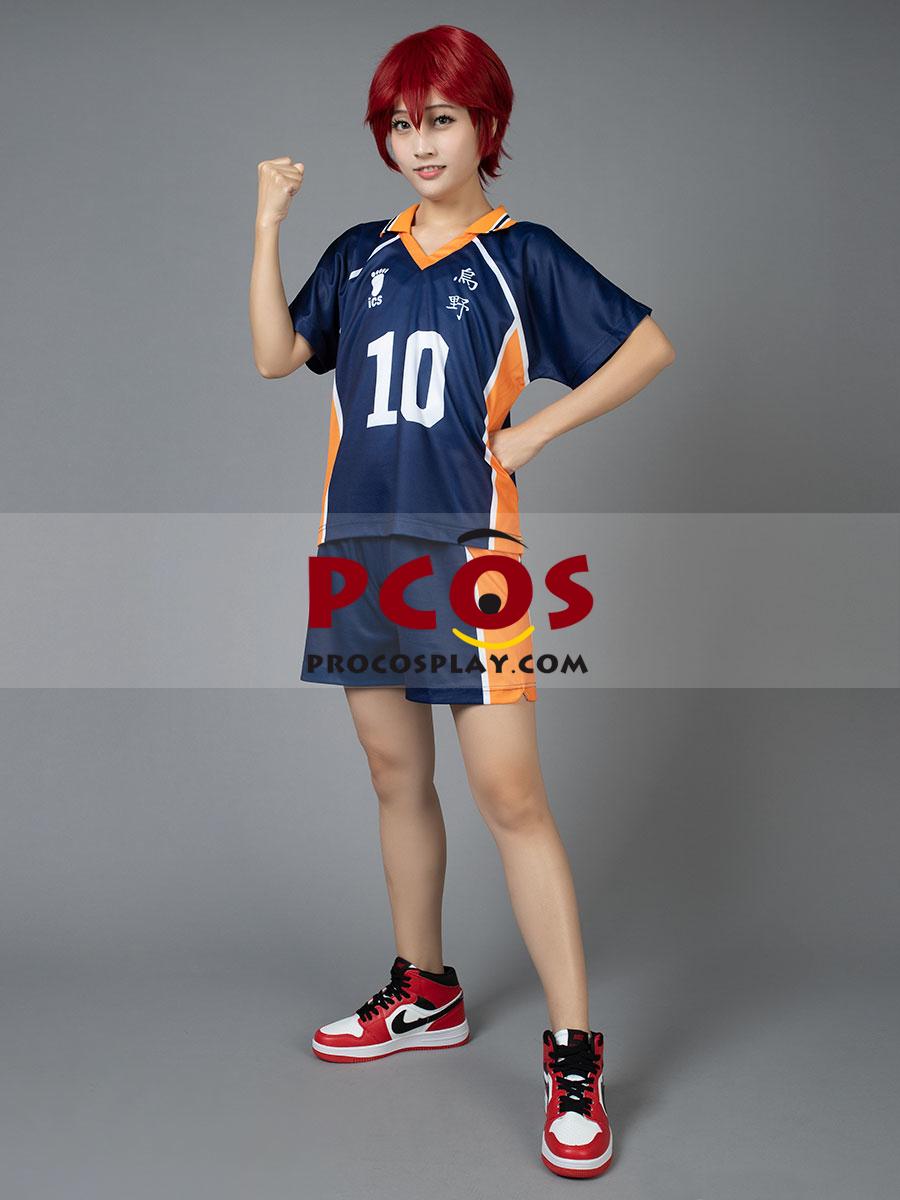 Haikyū!! Shōyō Hinata Number Ten Cosplay Jerseys mp002357 ...