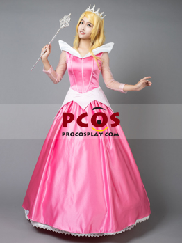 Picture of Ready to Ship Sleeping Beauty Princess Aurora Cosplay Costume mp002020