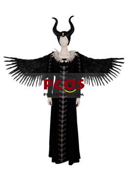 Picture of Maleficent: Mistress of Evil Cosplay Costume with Horns mp005235