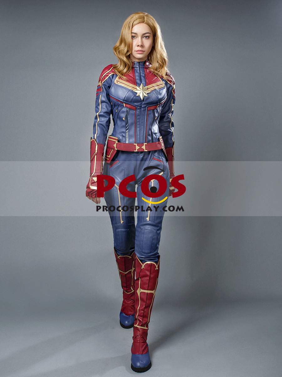 Procosplay Offer High Quality Avengers Captain Marvel Carol Danvers Cosplay Costume Best Profession Cosplay Costumes Online Shop Jumpsuit officially licensed marvel product. new captain marvel carol danvers cosplay costume mp004141