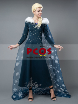 Picture of Ready to Ship Frozen 2 Elsa Snowsuit Cosplay Costume mp005237
