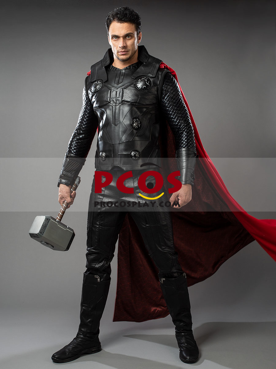 DFYM Avengers Infinity War Thor Thor Odinson Cosplay Costume Deluxe Outfit