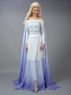 Picture of Frozen 2 Elsa White Dress Cosplay Costume mp005306