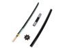 Picture of Demon Slayer: Kimetsu no Yaiba Shinazugawa Sanemi Cosplay Sword mp005185