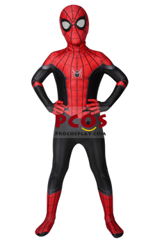 Picture of Ready to Ship Spider-Man: Far From Home Peter Parker Cosplay Costume for Kids mp005482