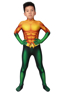 Picture of Ready to Ship Aquaman 2018 Arthur Curry Cosplay Costume for Kids mp005479