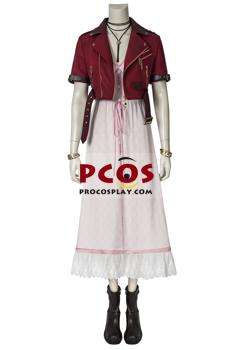 Picture of Crisis Core - Final Fantasy VII Aerith Gainsborough Cosplay Costume mp005508