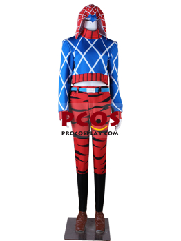 Picture of JOJO's Bizarre Adventure Golden Wind Guīdo Misuta Cosplay Costume mp005549