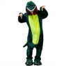 Picture of Ready to Ship Green Dinosaur Coral Fleece Pajamas and Shoes mp005569