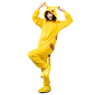Picture of Pikachu Coral Fleece Pajamas and Shoes mp005570