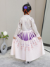 Picture of Ready to Ship Frozen 2 Anna Cream Dress Cosplay Costume For Kids mp005586
