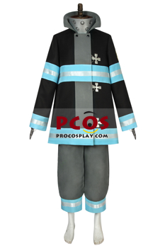 Picture of Fire Force Special Fire Force Company 8 Men Uniform Shinra Kusakabe Cosplay Costume mp005631