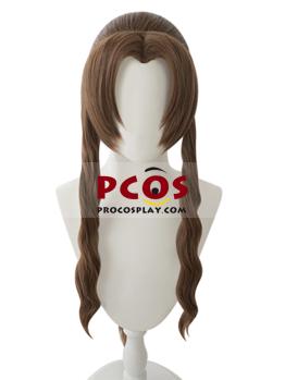 Picture of Crisis Core - Final Fantasy VI Aerith Gainsborough Cosplay Wigs mp005624