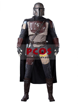 Picture of The Mandalorian Armor Cosplay Costume with Helmet mp005358