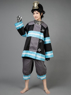 Picture of Ready to Ship Fire Force Men Uniform Shinra Kusakabe Cosplay Costume mp005594
