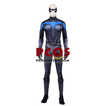 Picture of Titans Nightwing Dick Grayson Cosplay Costume 3D Jumpsuit mp005732