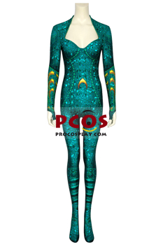 Picture of Aquaman 2018 Mera Cosplay Costume 3D Jumpsuit mp005751