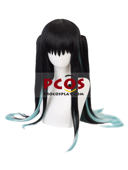Picture of Demon Slayer: Kimetsu no Yaiba Tokitou Muichirou Double Tiger Clip Cosplay Wigs  mp005738