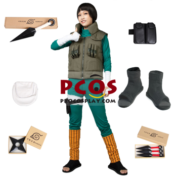 Picture of Rock Lee From Naruto Rock Lee Cosplay Costume Suit mp000447