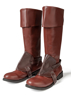 Picture of Tangled Princess Rapunzel Flynn Ryder Cosplay Boots mp005408