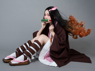 Picture of Demon Slayer: Kimetsu no Yaiba Kamado Nezuko Cosplay Costume Upgraded Version mp005697