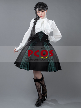 Picture of Ready to Ship Vintage Polo-Neck Princess White shirt mp005468